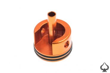 A1A Aluminum Silent Cylinder Head for Ver.2 ( M4 ) Gearbox Type B ( Orange )