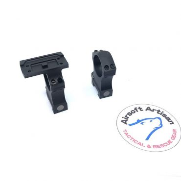 ARTISAN NF Style 30mm Scope Mount with T1 Scope Ring Interface ( CNC Aluminum Black )