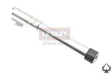 Ace One Arms 5.1 Stainless Steel Threaded 14mm+ CW Bull Barrel ( SV )