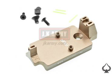 Ace One Arms Red Dot Back Up Sight Base for TM / WE / ARMY 1911 Series ( FDE ) ( A1A RMR )