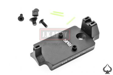 Ace One Arms Red Dot Back Up Sight Base for TM / WE / ARMY 1911 Series ( BK ) ( A1A RMR )