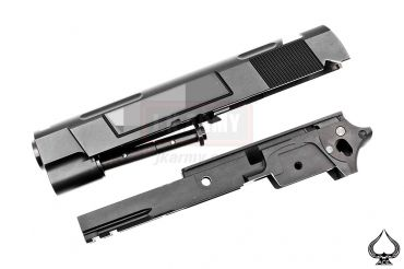 Ace One Arms ST Costa Style VIP Tactical Slide Set for Marui Hi-capa Series ( Black Limited Edition )