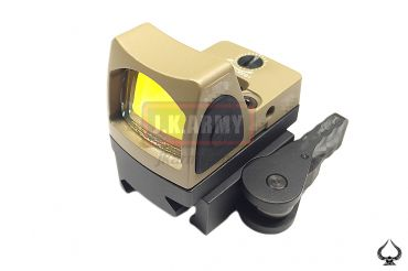 Ace1 Arms RMR Style Control Sensor Red Dot Sight On / Off with QD Mount ( Tan )