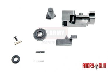 Angry Gun CNC Complete Hop Up Adjuster Set for TM MWS M4 GBB