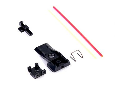 AIP Adjustable Alumimun Front and Rear Sight ( Fiber ) For TM 5.1