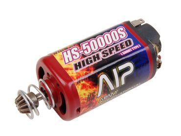 AIP High Speed Motor HS-50000 ( Short Type & Force-magnetism )