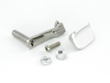 AIP Stainless Steel Slide Stop with Thumb Rest for Marui Hi-capa 5.1/4.3 ( SV )