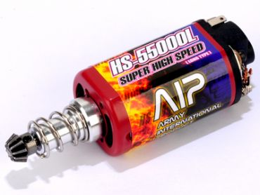 AIP Super High Speed Motor HS-55000 ( Long Type & Force Magnetism )