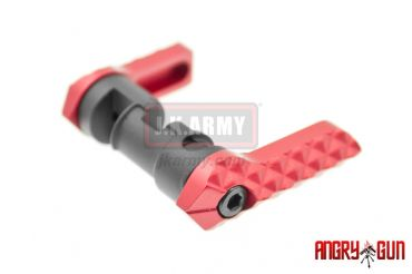 Angry Gun Ambi Selector For WE M4 GBB ( Red )