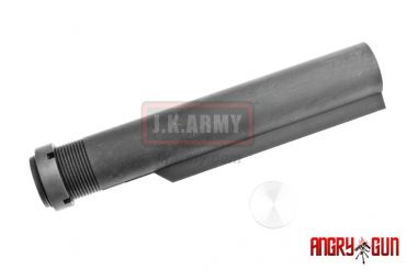 Angry Gun Mil-Spec CNC 6 Position Buffer Tube for WA / WE / PTW GBB Type ( BK )