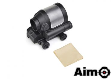 AIM-O SRS Style 1x38 Red Dot Sight (No Solar Cell) ( BK )