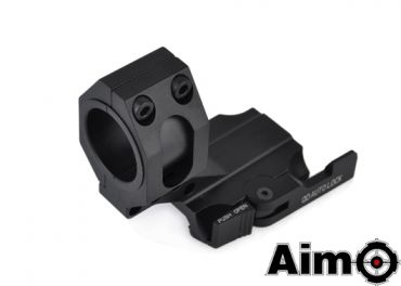 AIMO Auto Lock QD Cantilever 25mm/30mm Ring Mount ( BK )