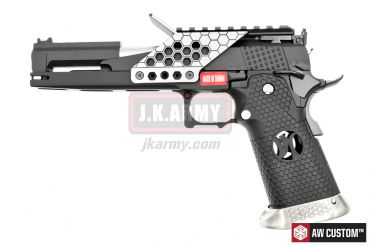 ARMORER WORKS AW 5.1 6Inch Dragon with Scope Mount & Cocking Handle Kit ( BK )