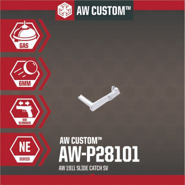 AW Slide Catch for AW 1911 GBBP Series ( Silver )