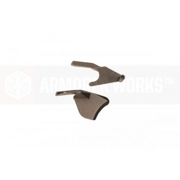 Armorer Works HX 5.1 Thumb Safety ( Left & Right ) for TM/WE/AW Hi-Capas ( Tan )