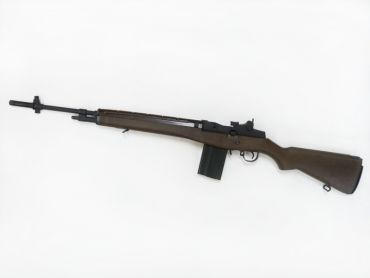 WE M14 GBB Rifle Airsoft  ( Wood Color )