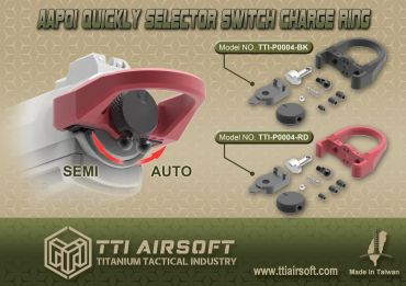 TTI Airsoft Selector Switch Charge Ring for AAP-01 GBB Pistol Series ( AAP01 )