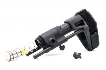 BJ MD Style PDW Stock for WA / WE / VFC / GHK / PTW RS Spec. GBB ( Black )