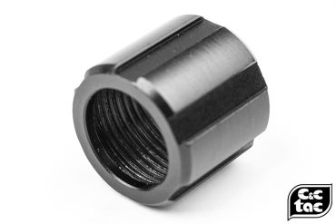 C&C SCO Style Thread Protector for 14mm CCW Threaded Outer Barrel ( Black )