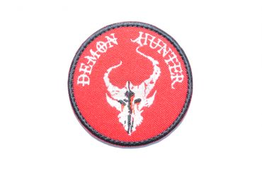 Hunter Patch ( Red x White ) ( Free Shipping )