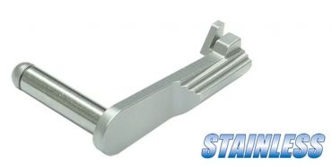Guarder Stainless Slide Stop for MARUI DETONICS .45 ( Silver )