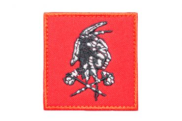 """DEVGRU Red Team """" The Shooter """" Patch ( Red ) ( Free Shipping )"""