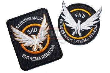 The Division Cosplaying Game Patch Set A ( SHD )