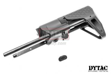 DYTAC EVO PDW Stock for Systema PTW ( Cerakote Black )