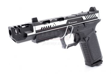 EMG Strike Industries SI-ARK-17 with Mass Driver Comp Ver. GBB Pistol ( 2-Tone Black )