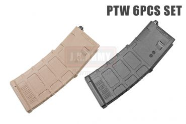 FCC Rampo's Complete PTW MAG G3 x6 Box Set ( BK / FDE )