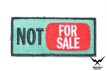 """FFI - """" NOT FOR SALE """" Patch ( Free Shipping )"""