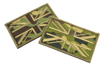 FFI UK Flag Forward Patch ( MCTP ) ( Free Shipping )