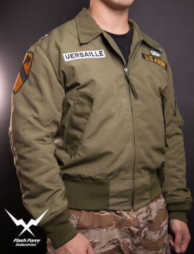 FFI - CVC Tanker Jacket ( Cold Weather Ver. US ARMY Military Vintage ) ( Olive Drab Green ) ( Limited Edition )