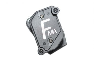 FMA Multi Angle Speed Mag Pouch fit 1.5 inch Belt ( IPSC ) ( Black x White ) ( Free Shipping )