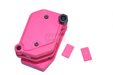 FMA Multi Angle Speed Mag Pouch fit 1.5 inch Belt ( IPSC ) ( Pink ) ( Free Shipping )