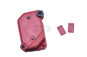 FMA Multi Angle Speed Mag Pouch fit 1.5 inch Belt ( IPSC ) ( Red ) ( Free Shipping )