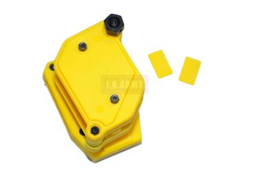 FMA Multi Angle Speed Mag Pouch fit 1.5 inch Belt ( IPSC ) ( Yellow ) ( Free Shipping )