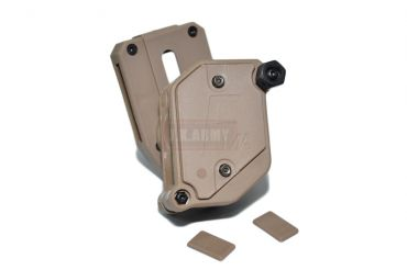 FMA Multi Angle Speed Mag Pouch fit 1.5 inch Belt ( IPSC ) ( DE ) ( Free Shipping )