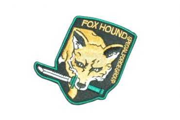 FOX HOUND Special Force Group Style Patch ( Original ) ( Free Shipping )