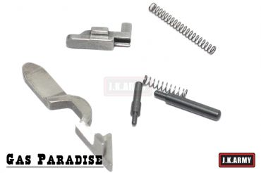 Gas Paradise Steel Disconnector, Fire Pin Lock, Safety Pin Set For T.Marui Hi-Capa