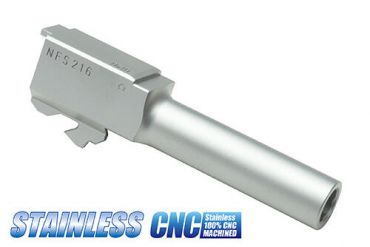 Guarder Stainless Steel CNC Silver Outer Barrel for Marui Model 26 ( G26 )