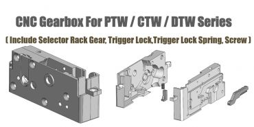 Alpha PTW M4 Series CNC Gearbox
