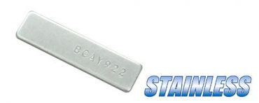 Guarder Stainless Serial Number Tag for Marui TM G17 Gen4 GBBP ( Original Number )