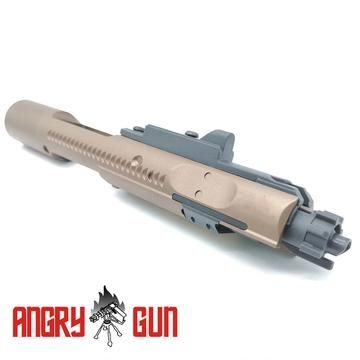 Angry Gun Complete MWS High Speed Bolt Carrier w/ MPA Nozzle ( Original ) ( FDE )