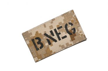 Infrared Reflective Patch - B- NEG ( AOR1 ) ( Free Shipping )