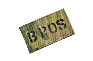 Infrared Reflective Patch - B+ POS ( Multicam ) ( Free Shipping )