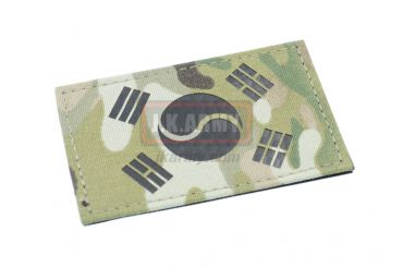 Infra Red Patch - Multicam South Korea Flag ( Free Shipping )