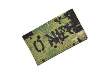 Infrared Reflective Patch - O- NEG ( AOR2 ) ( Free Shipping )