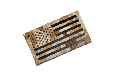 Infrared Reflective Patch - USA Flag ( Forward ) ( AOR1 ) ( Free Shipping )