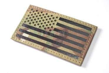 Infrared Reflective Patch - USA Flag ( Forward ) ( Multicam ) ( Free Shipping )